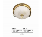 Riperlamp 232L 03.AM-AQ-AY-BG-BJ-BQ-CJ AMBER