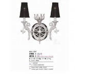 Riperlamp 378N 02.JB Swarovski Without Shade Arianna
