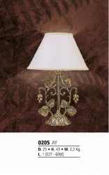 Riperlamp 020S 01.AA-AB-AE CREAM SHADE
