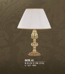 Riperlamp 047R 01.AA-AB-AE-AH-AM-AQ-AY-BG-BJ-BQ-CJ BEIGE SHADE