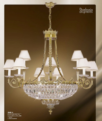 Riperlamp 354B 15.CA-CB-CX-JB ASFOUR,CREAM SHADE