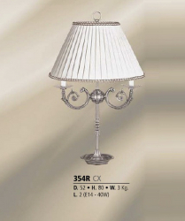 Riperlamp 354R 02.AA-AB-AE-AH-AM-AQ-AY-BG-BJ-BQ-CJ CREAM SHADE